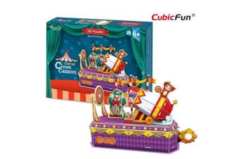 3D Puzzle Fun Kids Toys Circus - Clown Cannon