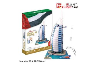 3D Puzzle Fun Kids Toys Burjal Arab - 101pc