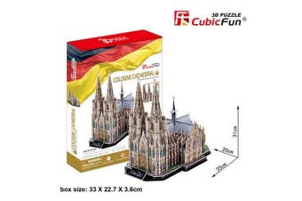 3D Puzzle Fun Kids Toys Cologne Cathedral - 179pc