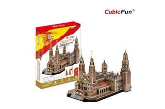3D Puzzle Fun Kids Toys Catedral de Santiago de Compostela - 101pc