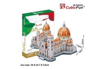 3D Puzzle Fun Kids Toys Cattedrale di Santa Maria del Fiore - 123pc
