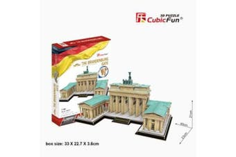 3D Puzzle Fun Kids Toys Brangenburg Gate - 150pc