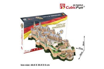3D Puzzle Fun Kids Toys Castle of Hohenzollern