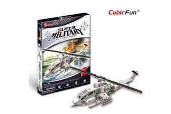 3D Puzzle Fun Kids Toys AH-1 Huey Cobra