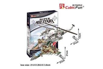 3D Puzzle Fun Kids Toys AH-1 Huey Cobra&Sukhoi Su-35