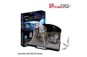 3D Puzzle Fun Kids Toys Apollo Lunar Module