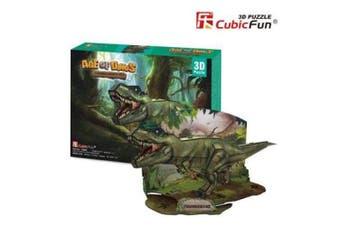 3D Puzzle Fun Kids Toys Age of Dinos - Tyrannosaurus Rex (T-Rex)