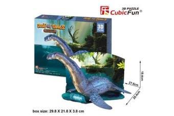 3D Puzzle Fun Kids Toys Age of Dinos -Plesiosaur