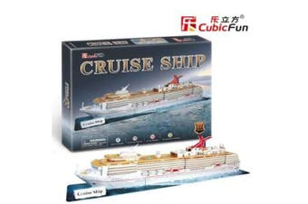 3D Puzzle Fun Kids Toys Cruise Ship