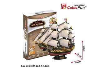 3D Puzzle Fun Kids Toys HMS Victory