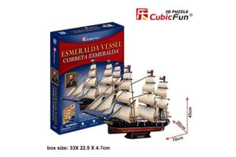 3D Puzzle Fun Kids Toys Esmeralda Vessel