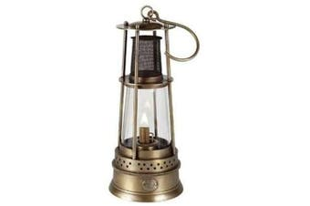 Authentic Models Bronze Miner's Table Lamp
