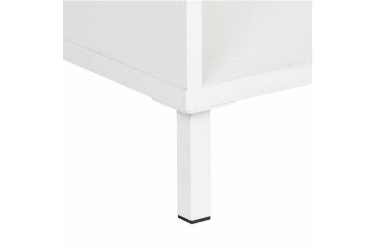 Ashley Collection 10-Cube Display Bookcase - White