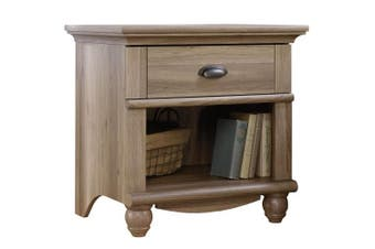 Harbor View Night Stand Bed Side Table - Salt Oak