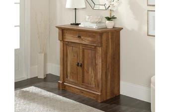 Palladia Entryway Hall Table Storage Unit - Vintage Oak