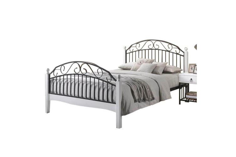 Ashley Queen Size Bed Frame Black, Ashley Queen Size Bed Frame