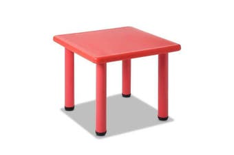 Kids Furniture Play Table - Red