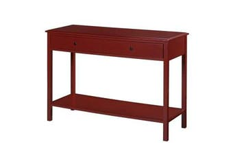 Wyatt Walker Console Hall Table - Red