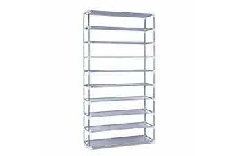 10 Tiers Stackable Shoe Storage Rack - 160cm