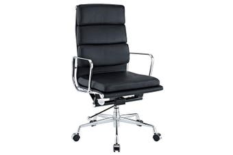 Eames Replica Soft Pad Management Office Chair - High Back - Black