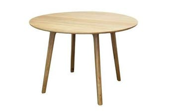 6IXTY Convair Oak Round Dining Table - 110cm