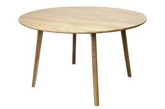 6IXTY Convair Oak Round Dining Table - 130cm