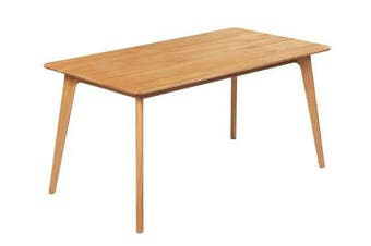 6IXTY Convair Oak Rectangular Dining Table - 150cm