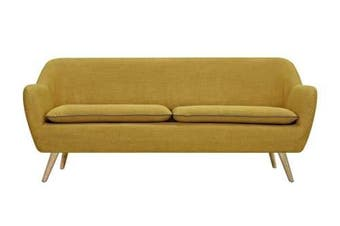 6IXTY Luxe 3-Seater Sofa - Yellow