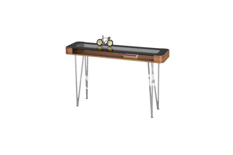 Zine Hall Table - Clear