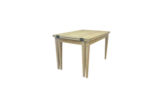 6IXTY French Rectangular Extendable Dining Table