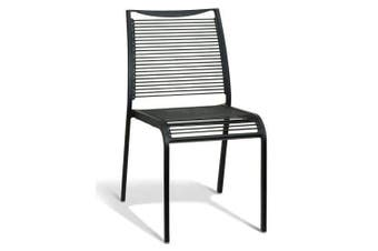 Wanika Outdoor Dining Chair - Black Frame