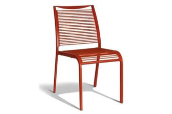 Wanika Outdoor Dining Chair - Red Frame