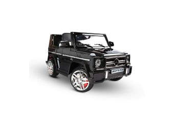 Kids Ride on Mercedes Benz Car w/ Remote Control Black