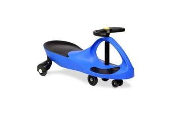 Kids Ride Pedal Free Swing Car 79cm - Blue