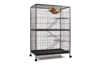 Cat Ferret Hamster Rat Bird Cage Aviary - 3 Level