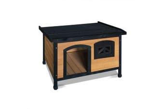Medium Pet Dog Kennel - Black