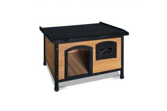 Large Pet Dog Kennel - Black