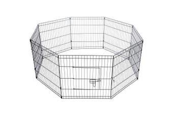 8 Panel Pet Playpen - 24 Inch