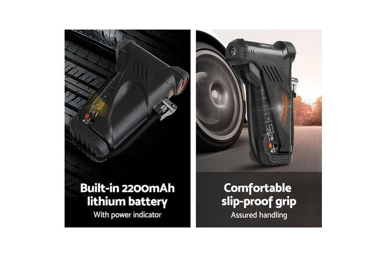 Giantz Portable Air Compressor Digital Hawk Cordless Car Pump Tyre Inflator Pro 12V