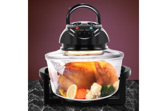 Devanti 17L Convection Oven Halogen Low Fat Roaster Air Fryer Turbo Electric