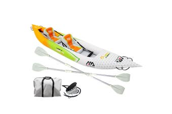 Aqua Marina Inflatable Kayak Kayaks Canoe Raft Fishing Boat Paddle Seat 2-person