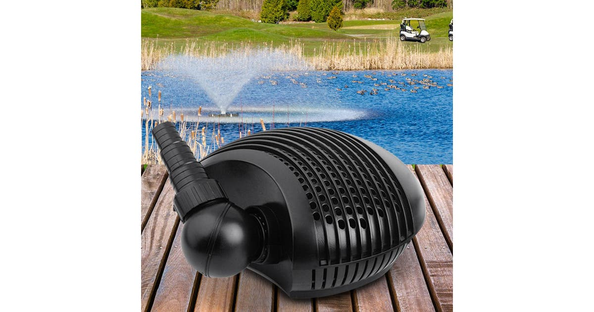 Giantz Pond Pump Aquarium Fish Tank Water Pumps Submersible Fountain Air 10000l Kogan Com