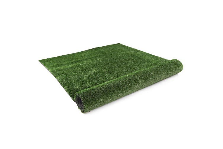 Primeturf 2X5M Synthetic Artificial Grass Fake Turf Olive Plants Plastic Lawn 15mm