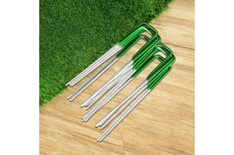 Primeturf 200pcs Synthetic Artificial Grass Pins Fake Lawn Turf Weed Mat Pegs