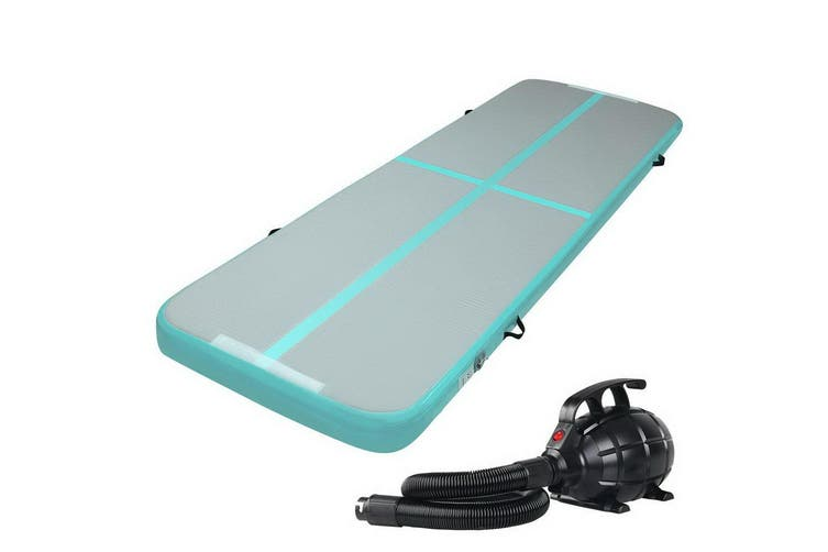 Everfit 3X1M Airtrack Inflatable Air Track Tumbling Mat Pump Home Gymnastics GN