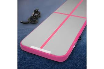 Everfit 3X1M Airtrack Inflatable Air Track Tumbling Mat Pump Floor Gymnastics PK