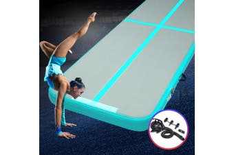 Everfit 4X1M Airtrack Inflatable Air Track Tumbling Mat W/Pump Floor Gymnastics