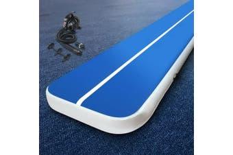 Everfit 4M Inflatable Air Track Airtrack Mat Tumbling Pump Floor Gymnastics 20CM