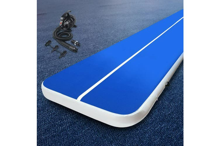 Everfit 4MX2M Airtrack Inflatable Air Track Tumbling Mat Pump Floor Gymnastics