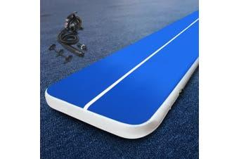 Everfit 6MX2M Airtrack Inflatable Air Track Tumbling Mat Pump Floor Gymnastics